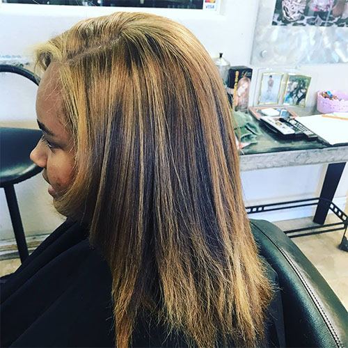 Blonde Hair Color on Afro Textured Hair